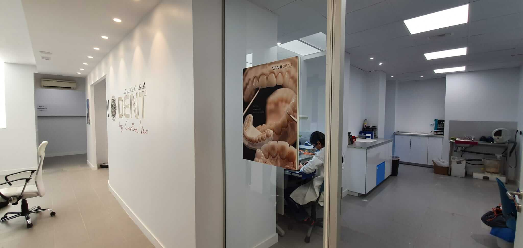 fresadora laboratorio dental
