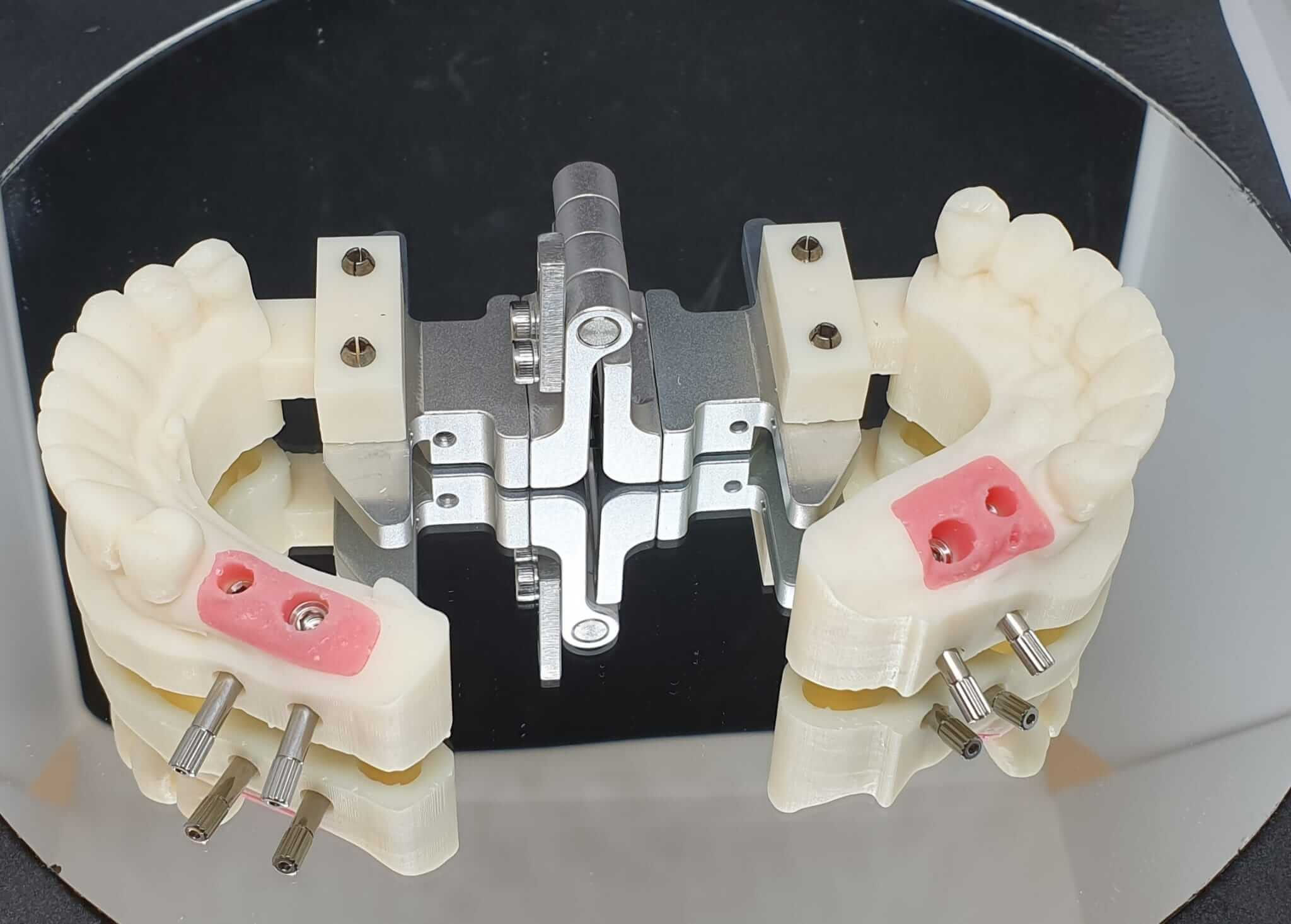 modelo 3d impreso laboratorio